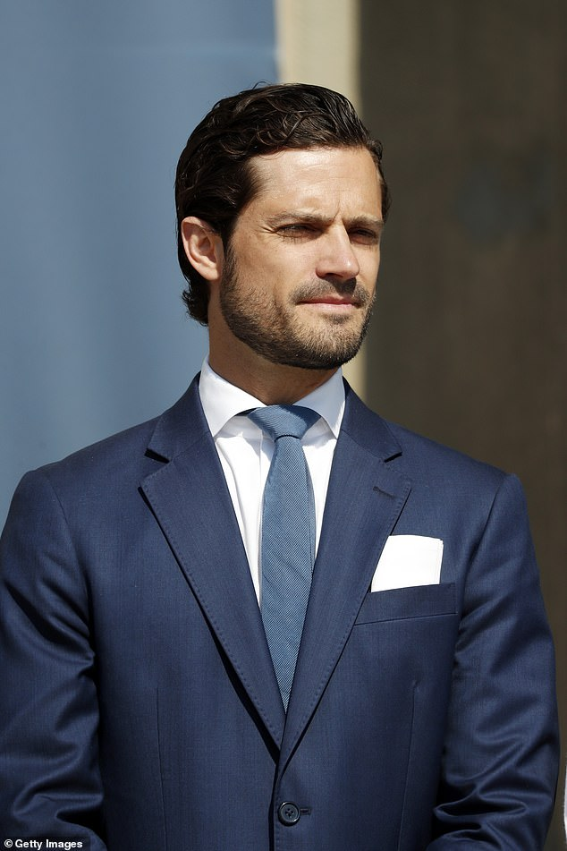 Prince Carl Phillip opened the celebrations for Sweden