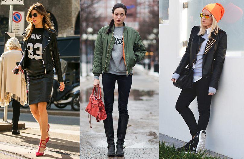 how_to_wear_sweatshirt_and_leather-jacket-bomber