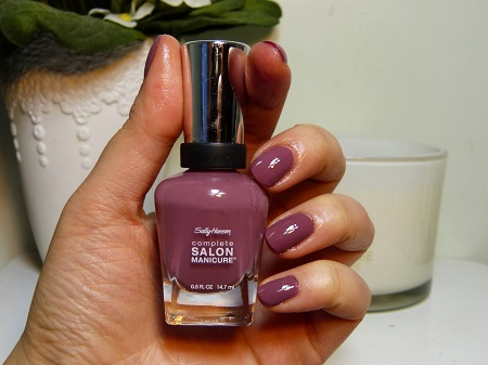 Лак для ногтей Sally Hansen Salon Plum